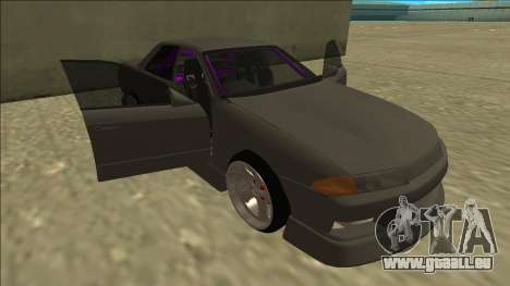 Nissan Skyline R32 Drift Sedan für GTA San Andreas Räder