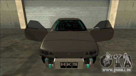 Nissan Skyline R32 Drift für GTA San Andreas obere Ansicht