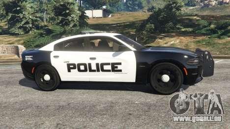 Dodge Charger 2015 LSPD pour GTA 5