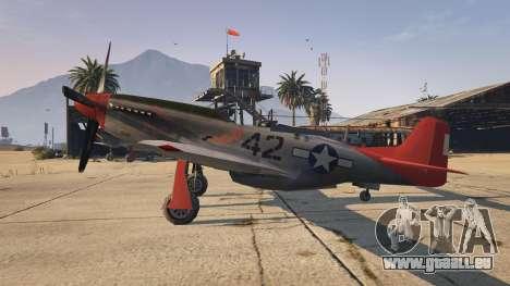 P-51D Mustang pour GTA 5