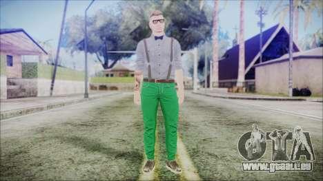 GTA Online Skin 60 pour GTA San Andreas deuxième écran