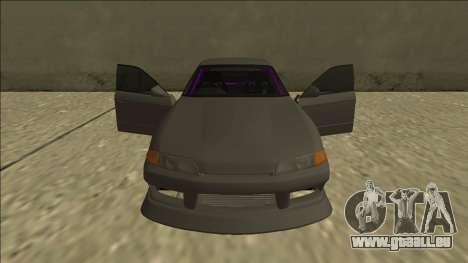 Nissan Skyline R32 Drift Sedan für GTA San Andreas Motor