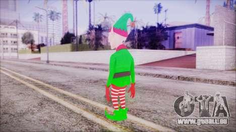 Christmas Elf v2 pour GTA San Andreas troisième écran