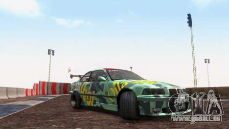 Bmw E36 Full Tuning pour GTA San Andreas