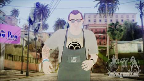 GTA 5 Ammu-Nation Seller 1 pour GTA San Andreas
