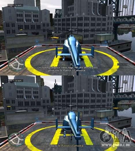 Réel NYC Noms de v1.1 pour GTA 4 sixième écran