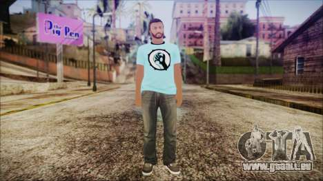GTA Online Skin 52 pour GTA San Andreas deuxième écran