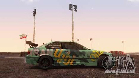 Bmw E36 Full Tuning pour GTA San Andreas laissé vue