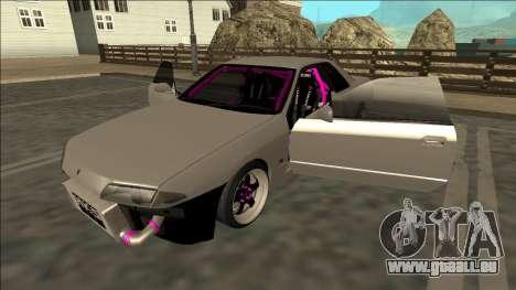 Nissan Skyline R32 Drift für GTA San Andreas Unteransicht