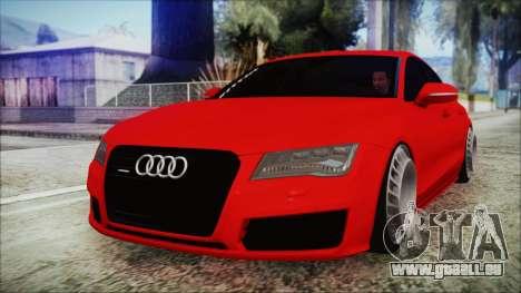 Audi A7 Messer v1 für GTA San Andreas