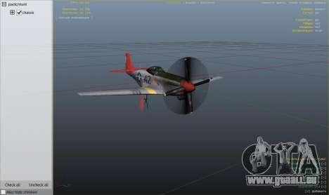 P-51D Mustang für GTA 5