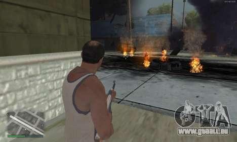 Meteors Mod für GTA San Andreas her Screenshot