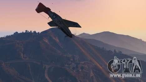 GTA 5 P-51D Mustang neuvième capture d'écran