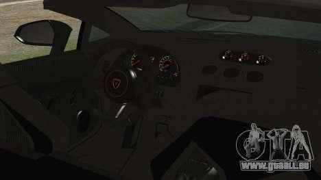 Lamborginhi Gallardo LP-570 Spyder HxH Neferpito für GTA San Andreas rechten Ansicht
