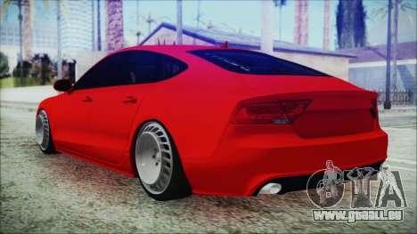 Audi A7 Messer v1 für GTA San Andreas linke Ansicht