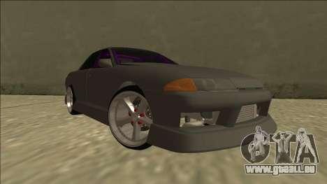 Nissan Skyline R32 Drift Sedan für GTA San Andreas Seitenansicht