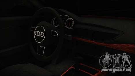 Audi A7 Messer v1 für GTA San Andreas rechten Ansicht