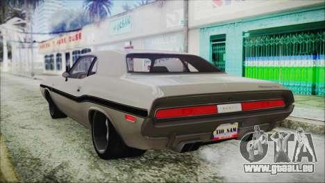 Dodge Challenger RT für GTA San Andreas linke Ansicht
