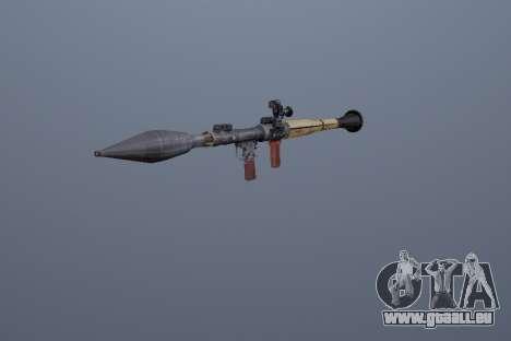 RPG-7 für GTA San Andreas