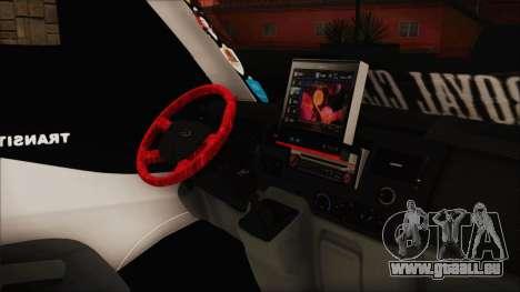 Ford Transit 350L für GTA San Andreas rechten Ansicht