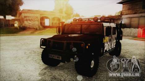 Hummer H1 Police für GTA San Andreas