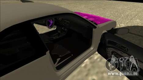 Nissan Silvia S14 Drift für GTA San Andreas Rückansicht