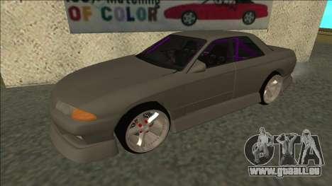 Nissan Skyline R32 Drift Sedan für GTA San Andreas