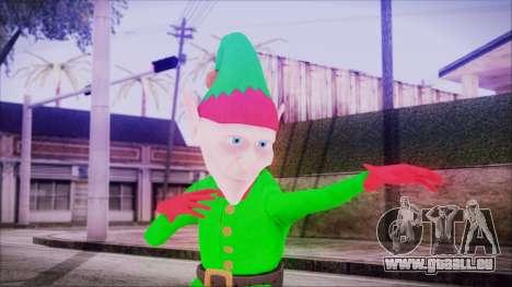 Christmas Elf v2 pour GTA San Andreas