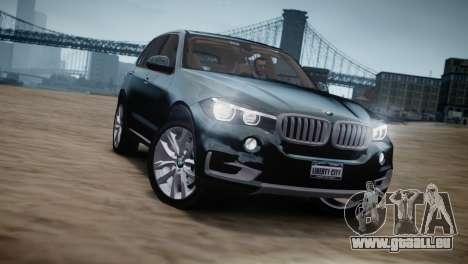 BMW X5 2015 pour GTA 4