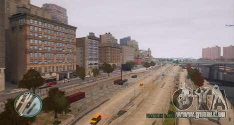 Réel NYC Noms de v1.1 pour GTA 4 secondes d'écran