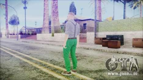 GTA Online Skin 60 pour GTA San Andreas troisième écran