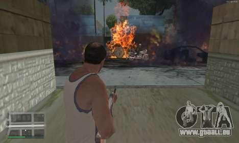 Meteors Mod für GTA San Andreas dritten Screenshot