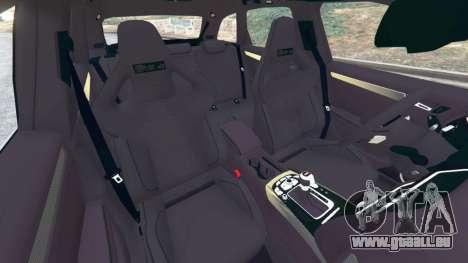 GTA 5 Audi RS4 Avant [LibertyWalk] rechte Seitenansicht