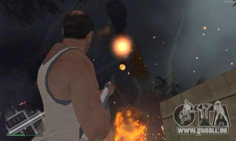 Meteors Mod pour GTA San Andreas deuxième écran