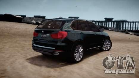 BMW X5 2015 pour GTA 4 est un droit