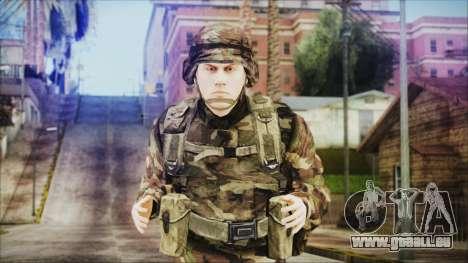 World In Conflict US Marine für GTA San Andreas