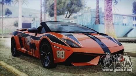 Lamborginhi Gallardo LP-570 Spyder HxH Neferpito für GTA San Andreas
