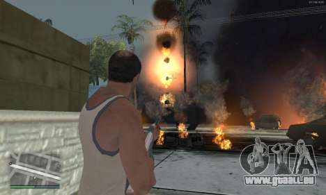 Meteors Mod pour GTA San Andreas