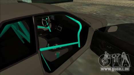Nissan Skyline R32 Drift pour GTA San Andreas vue arrière