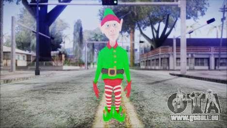 Christmas Elf v2 pour GTA San Andreas deuxième écran