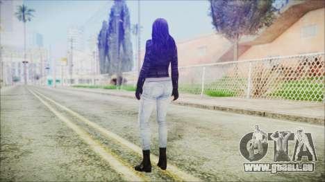 Marvel Future Fight Jessica Jones v2 für GTA San Andreas dritten Screenshot