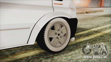 Ford Transit 350L pour GTA San Andreas sur la vue arrière gauche