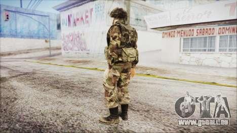 World In Conflict US Marine pour GTA San Andreas troisième écran