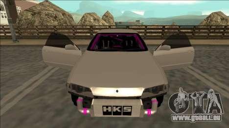 Nissan Skyline R32 Drift für GTA San Andreas Innen