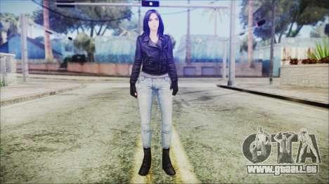 Marvel Future Fight Jessica Jones v2 für GTA San Andreas zweiten Screenshot
