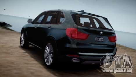 BMW X5 2015 pour GTA 4 est une gauche