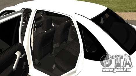 Lada Granlina pour GTA San Andreas vue arrière