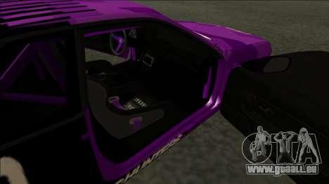 Nissan Skyline R32 Drift Falken für GTA San Andreas Innenansicht