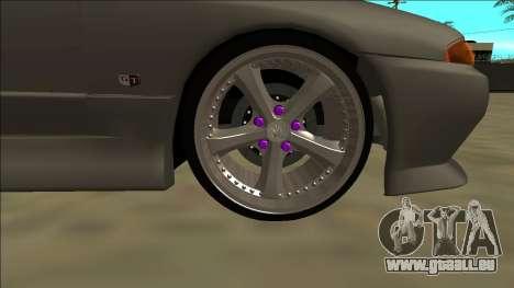 Nissan Skyline R32 Drift pour GTA San Andreas vue de dessus