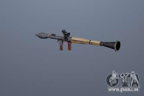 RPG-7 für GTA San Andreas zweiten Screenshot